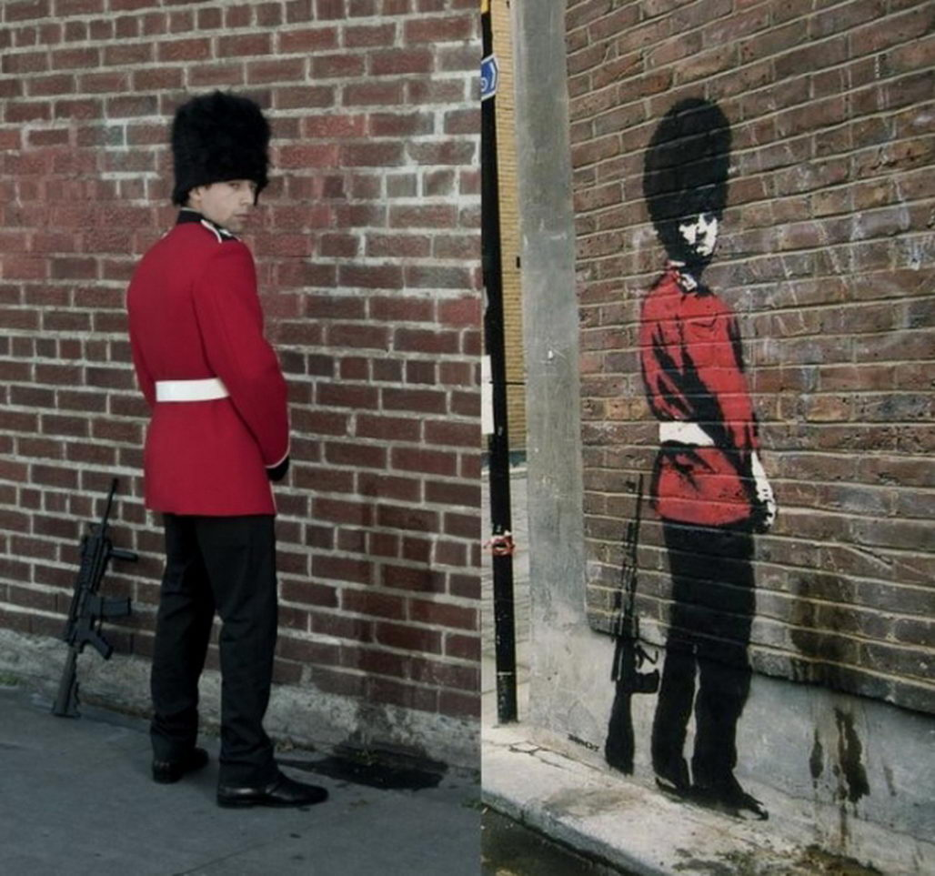 Banksy Paintings Re-Cr...