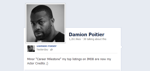 damion poitier biography