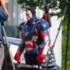 Confirmed: The Iron Patriot Will Be In Iron Man 3 - Set Photos Leaked!