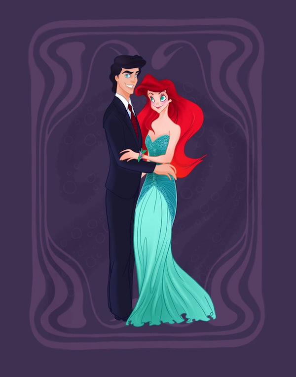 disney-characters-as-high-school-students