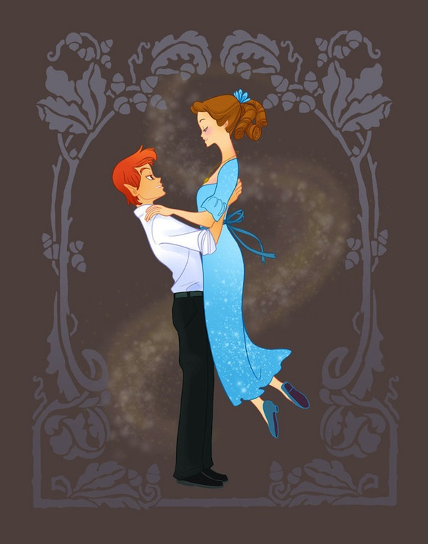 13 Disney Character Couples Get Prom Season Makeovers ...