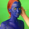 First Look at Jennifer Lawrence in Complete Mystique Makeup in X-MEN: DAYS OF FUTURE PAST