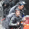 First Images Of Turtle Mo-Cap Suits From TEENAGE MUTANT NINJA TURTLES