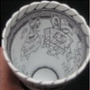 The Coolest Art You've Ever Seen on Styrofoam Cups