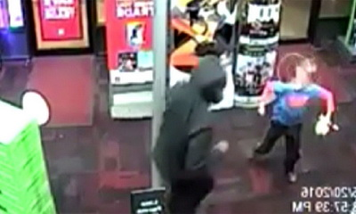 What's Hot: 7-Year-Old Attacks Armed Robbers At Gamestop