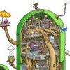 Look Inside Finn's Treehouse From 'Adventure Time' With Max Degtyarev