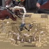 Clever Kids Build LEGO Star Wars Sarlacc Pit With An Amazing Hidden World