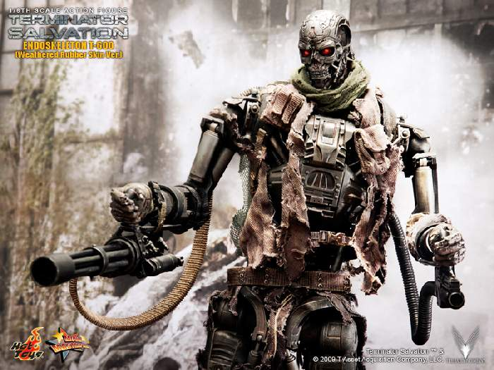 Proud to bring you the latest in Hot Toys' Terminator Salvation lineup,