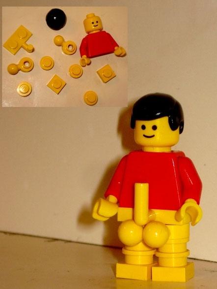 How To Build An Anatomically Correct Lego Man  Ybmw-4911