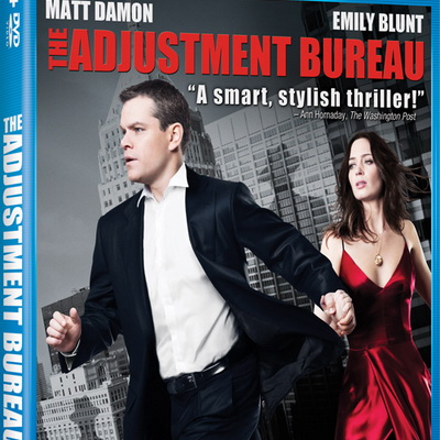'Adjustment Bureau' DVD Giveaway