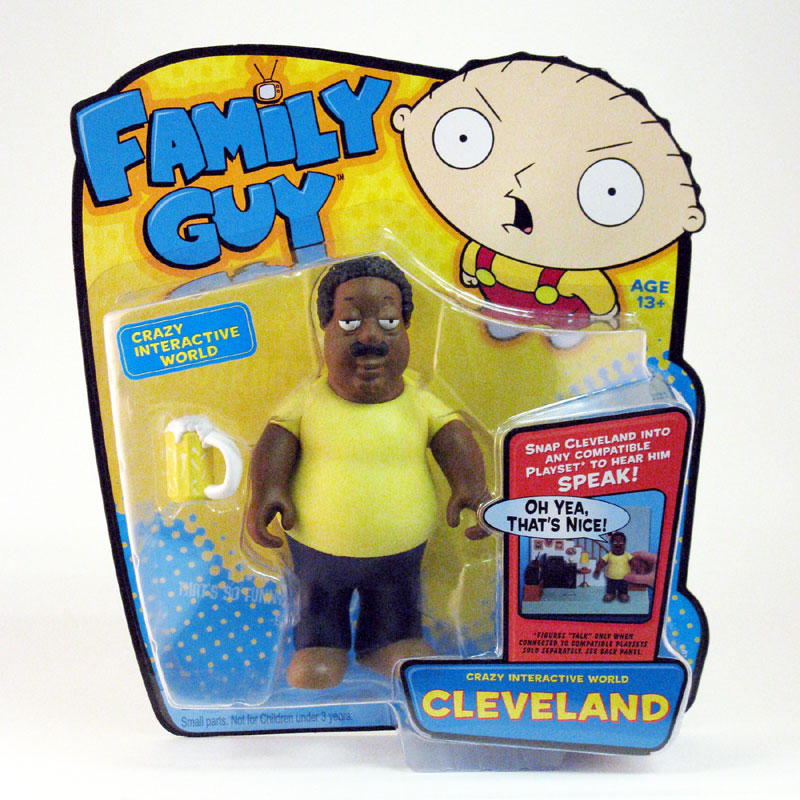 Cleveland Family Guy Toys : Playmates toys family guy series interactive figures