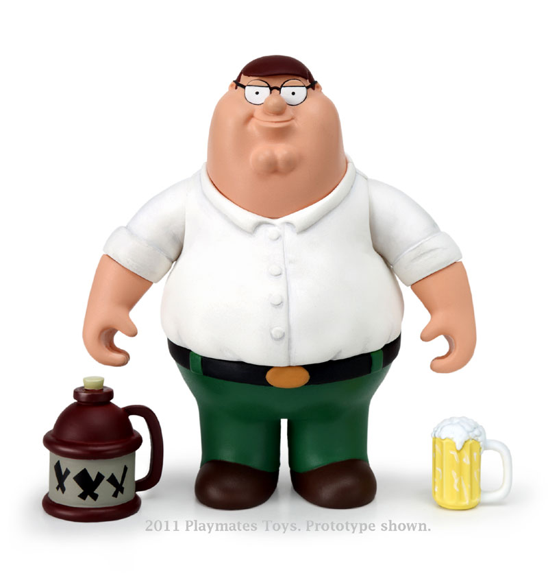 Family Guy Peter Toy : Playmates toys family guy series interactive figures