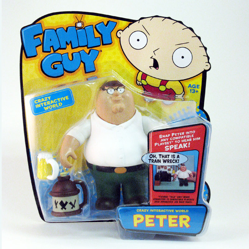 Family Guy Peters Toy Design : Playmates toys family guy series interactive figures