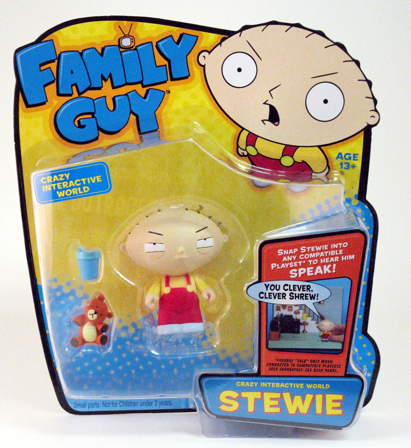 Toys For Family : Playmates toys family guy series interactive figures
