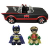 Mezco Unveils Batman Classic TV Series  Mez-Itz and Batmobile with Toy Giveaway