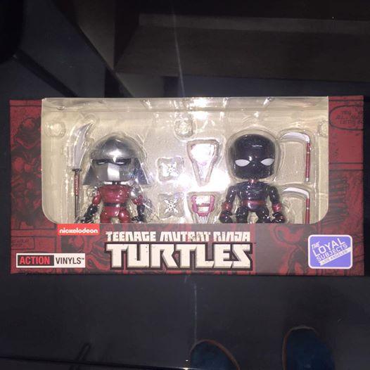 The Loyal Subjects Metallic Shredder Hastings exclusive TMNT Ninja Turtles