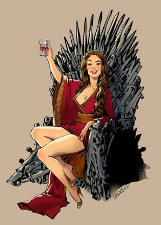 Andrew-Tarusov-Game-of-Thrones-Pin-Ups-Cersei.jpg