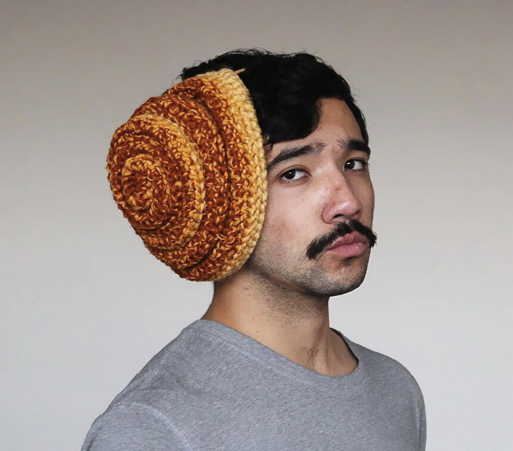 Crochet Bun Hat : Shy? Try Wearing Knitted Food Hats as an Icebreaker YouBentMyWookie