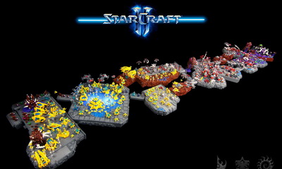 What's Hot: StarCraft Lego Microscale Collaboration