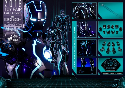 Hot Toys - Iron Man 2 - Neon Tech Iron Man Mark IV collectible figure_PR22.jpg