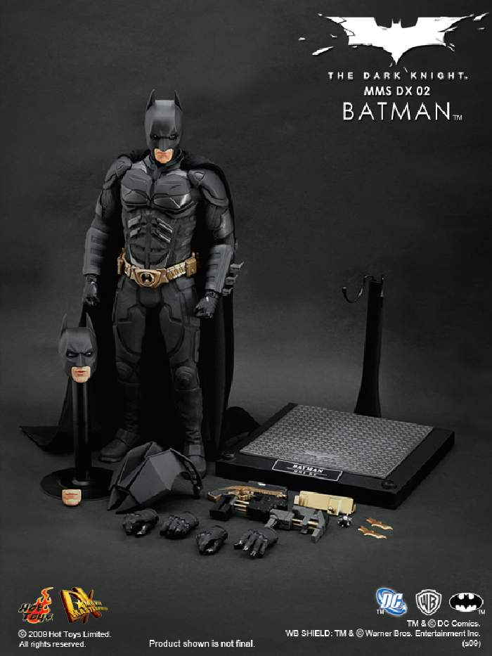 hot toys mms dx 02 the dark knight 1 6th scale. Black Bedroom Furniture Sets. Home Design Ideas