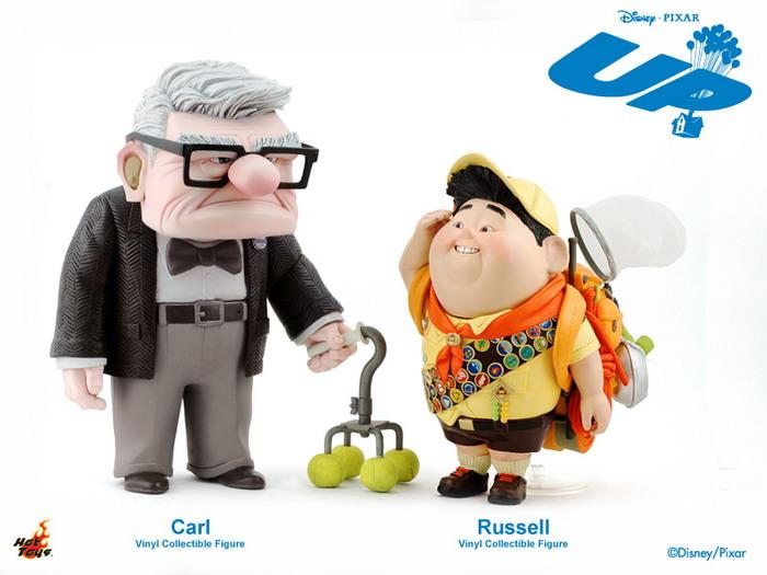 Hot Toys Mmsv01 Pixar S Up 7 Carl Vinyl Collectible
