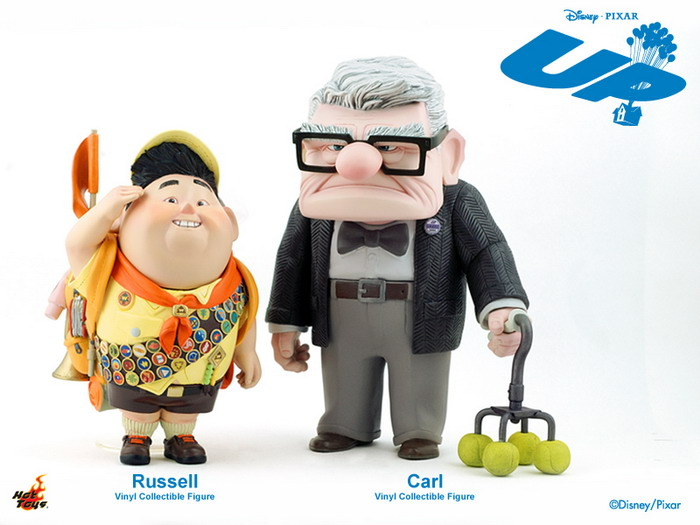 Toys For 5 And Up : Hot toys mmsv pixar s up ″ russell vinyl