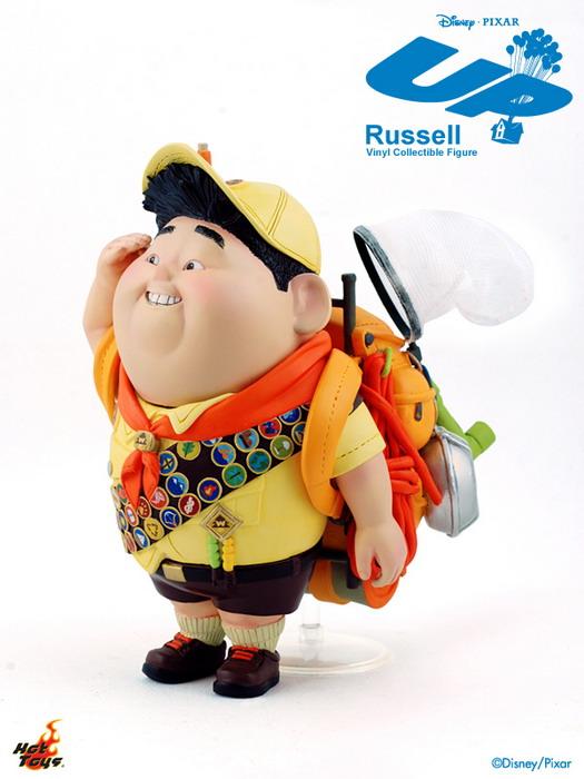 Hot Toys Mmsv02 Pixar S Up 5 5 Russell Vinyl