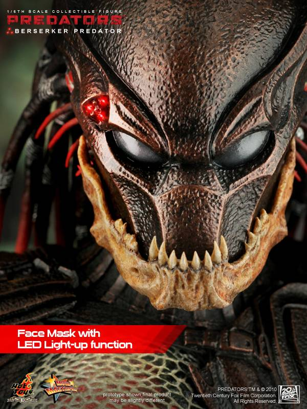Hot Toys Mms130 Predators 1 6th Scale Berserker