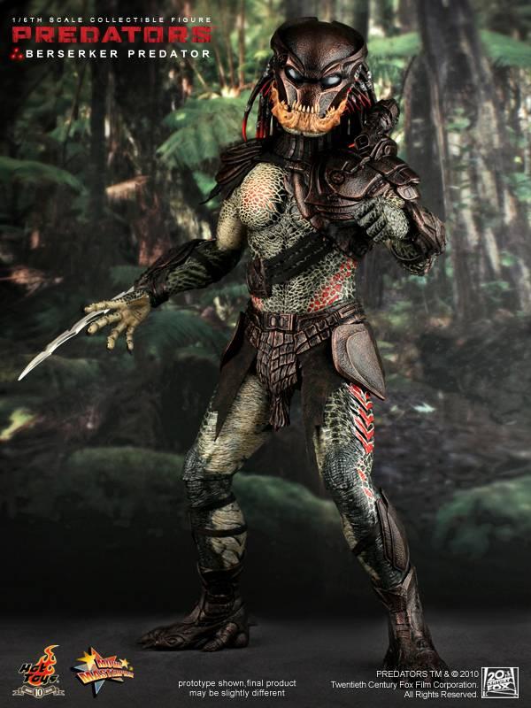 Hot Toys - MMS130 - Predators: 1/6th Scale Berserker ...