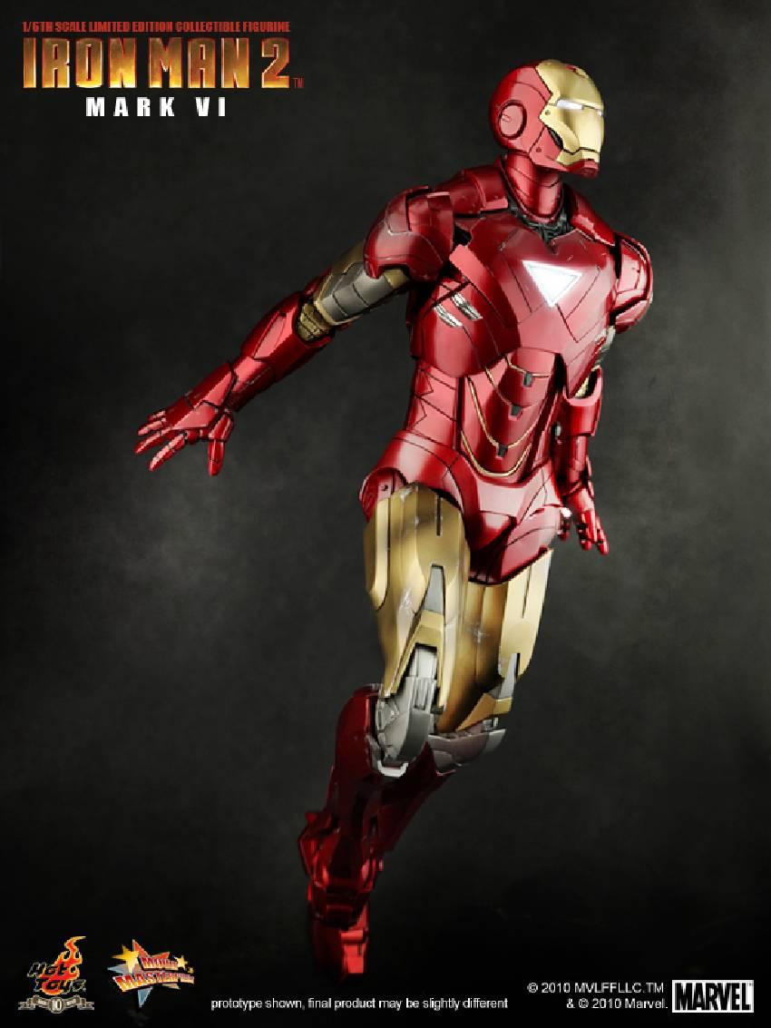 Iron Man 2: Iron Man 2: 1/6th Scale Mark VI