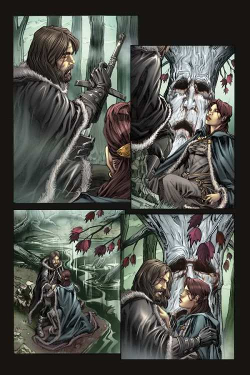 Five Page Preview Of Dynamite' 'Game of Thrones' Comic