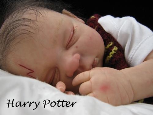 Reborn Harry Potter Babies Creepy Custom Uncomfortably