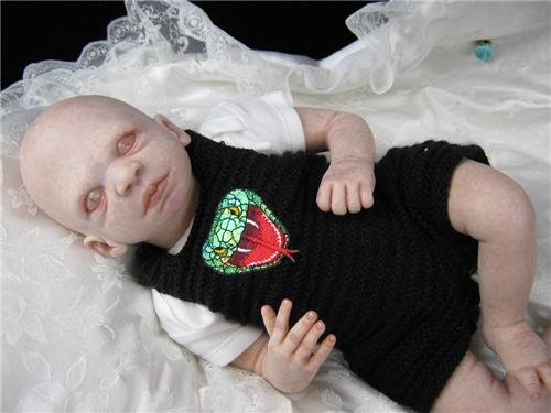 Reborn Harry Potter Babies Creepy Custom Uncomfortably