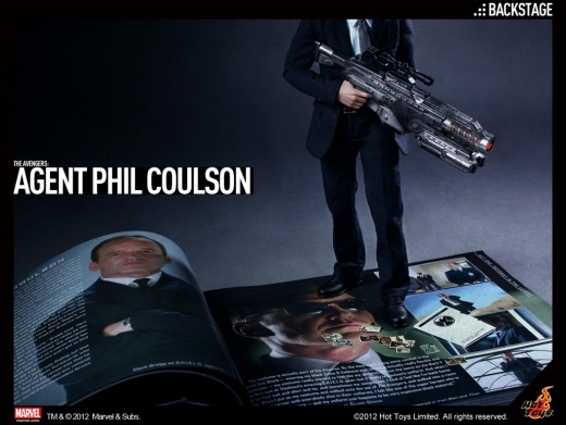Hot Toys - The Avengers - Agent Phil Coulson_Backstage.jpg