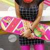 SDCC 2012 - Sneak Peak At Mattel's 'Back to the Future II' Hoverboard