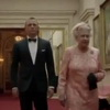 Daniel Craig as 007 With The Queen Elizabeth At 2012 Olympics Opening Ceremony