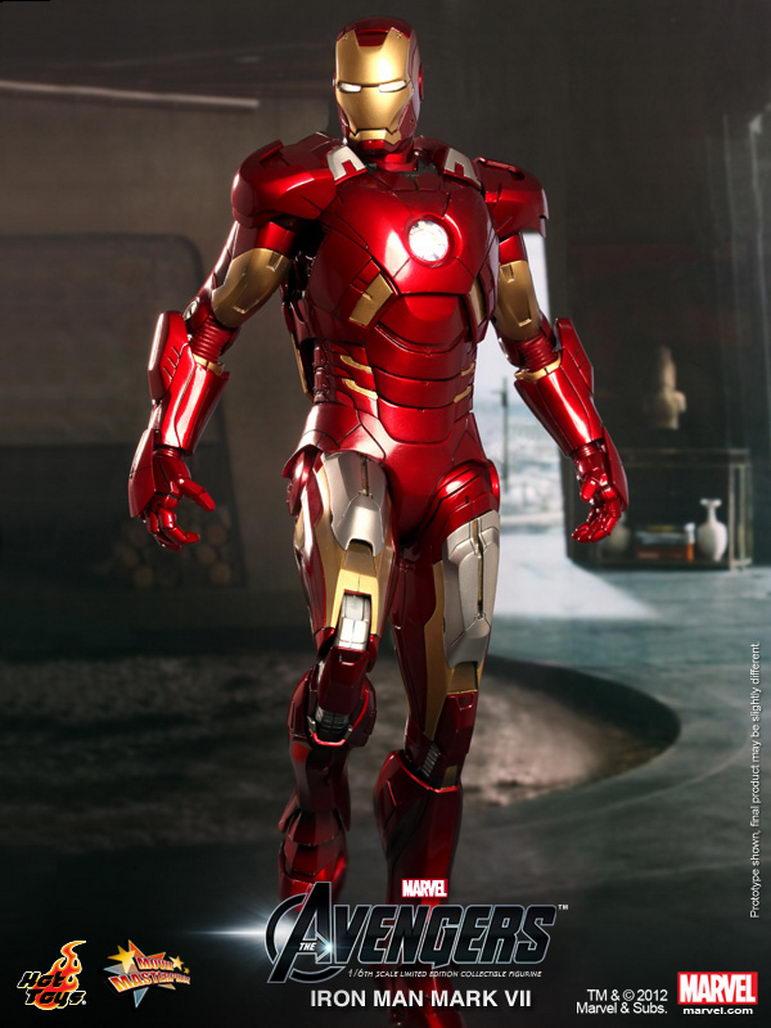 [Sideshow] Iron Man Mark VII - Legendary Scale figure - LANÇADO!!! - Página 2 Hot%20Toys%20-%20The%20Avengers%20-%20Mark%20VII%20Collectible%20Figurine_PR1