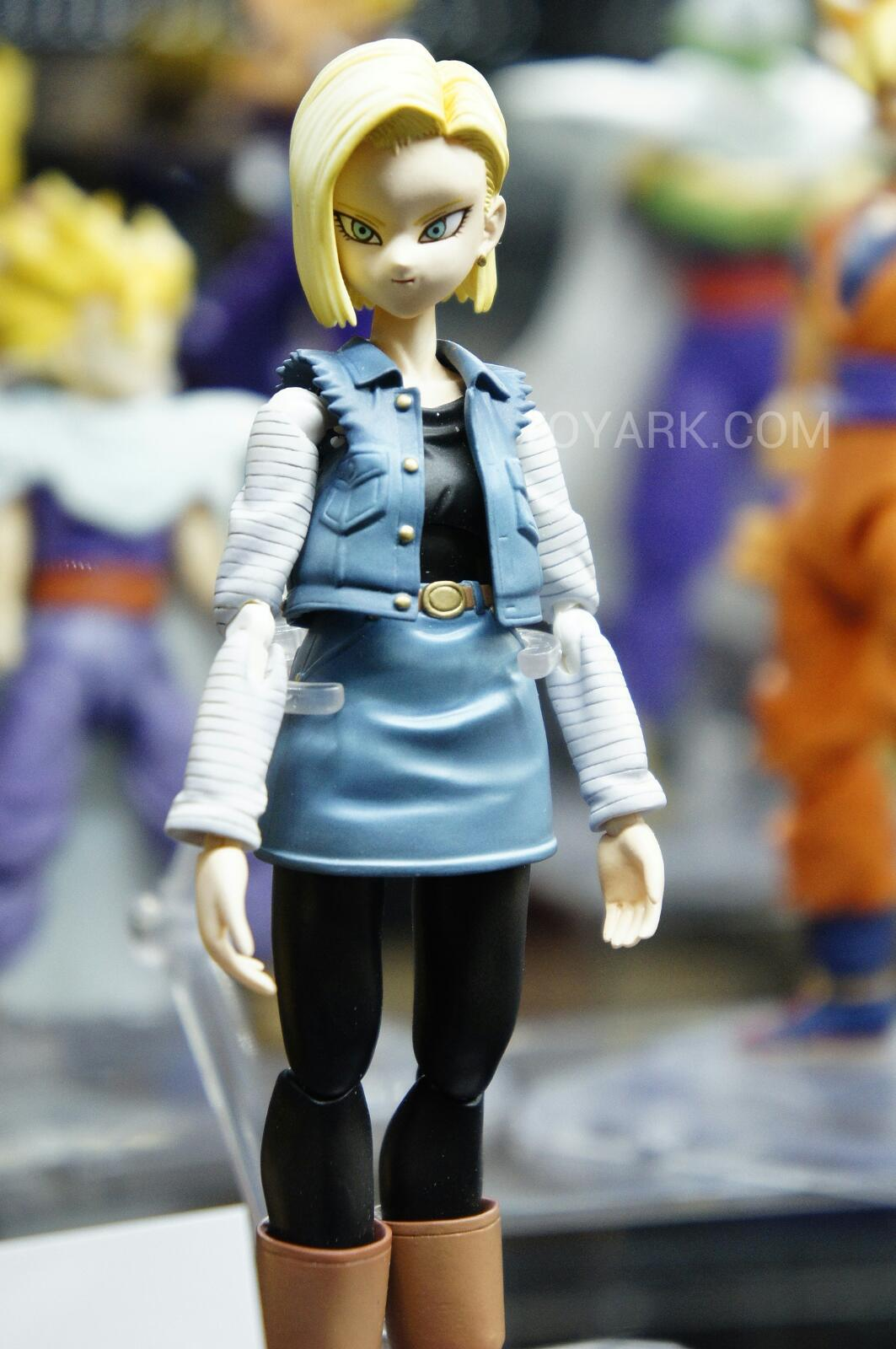 Remote Control Ball >> SDCC 2012: New Dragonball Z S.H. Figuarts, Android 18, Krillin And More Revealed! – YBMW