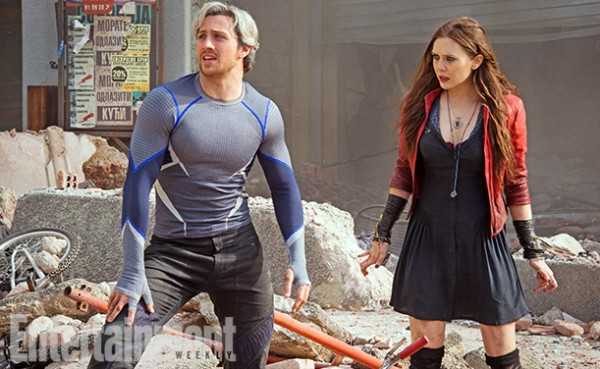 avengers age of ultron new images of quicksilver