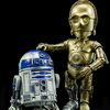 Hybrid Metal Figuration Star Wars C-3PO and R2-D2 Official Pics