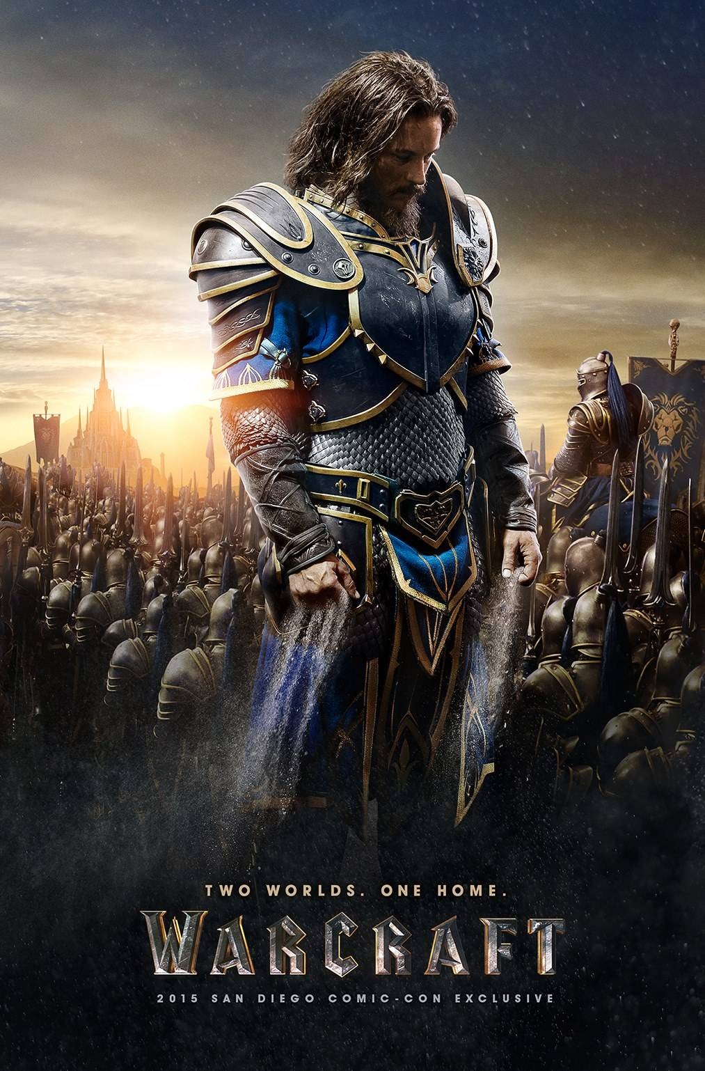 SDCC 2015 - Warcraft posters reveals look at main characters