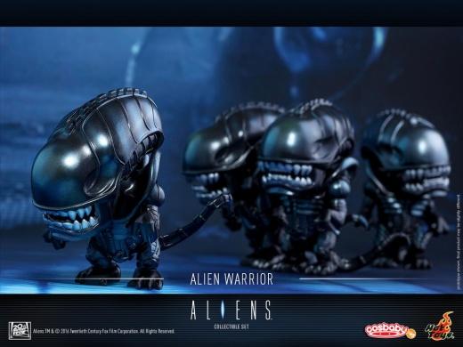 Hot Toys - Aliens - Alien Warrior & USCM Cosbaby (S) Set_PR5.jpg