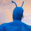 First Images of Amazon's 'The Tick' Feature Peter Serafinowicz In Costume