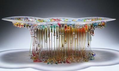 What's Hot: Daniela Forti's Unbelievable Glass Jellyfish Tables
