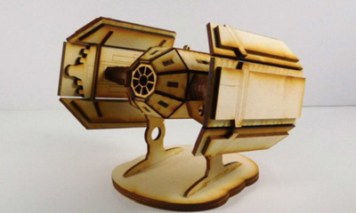 What's Hot: Awesome Wooden Pop Culture Space Ships You Can Build At Home!