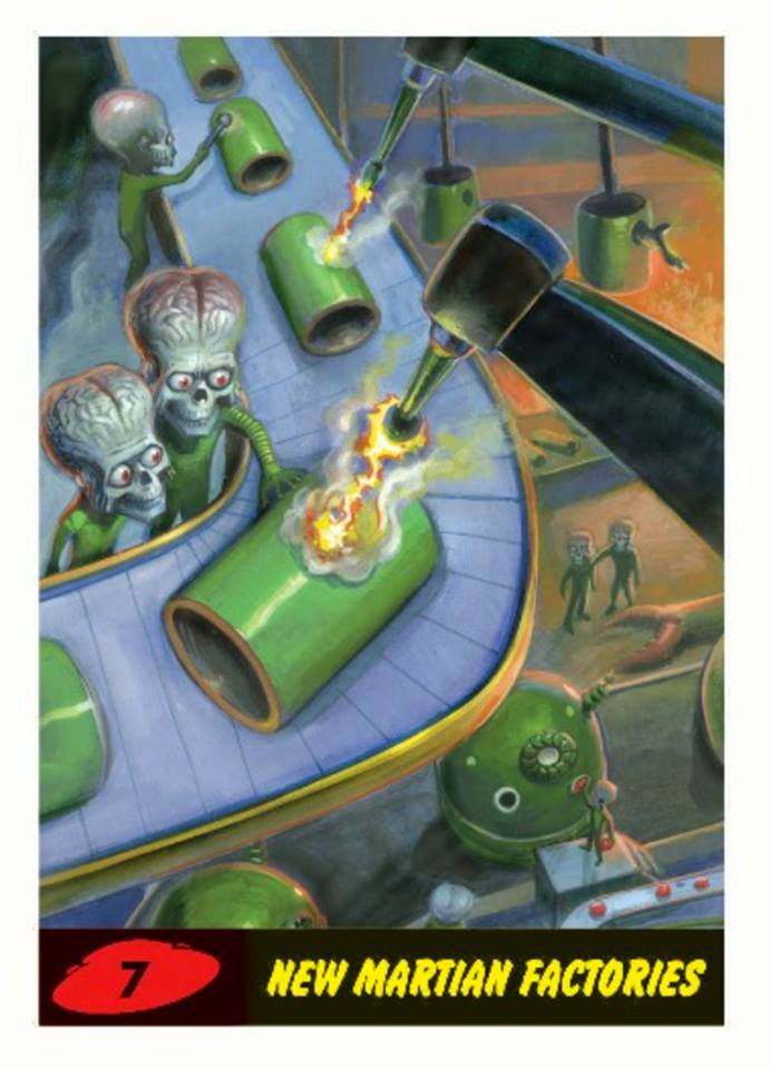 Mars Attacks Returns In New Topps Cards Set