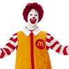 Mob of Ronald McDonalds Trolls London Burger King