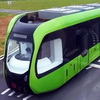 China Launches Trackless, Driverless Train