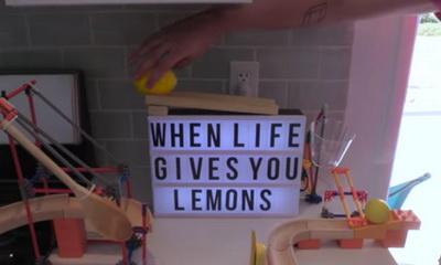 What's Hot: Relax With This 9-Minute Lemonade Rube Goldberg Machine